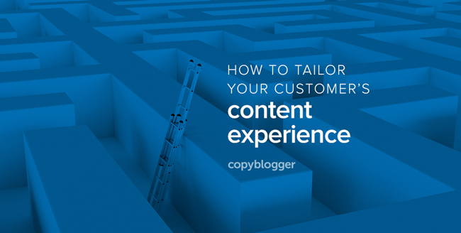 How to tailor your customer's content experience