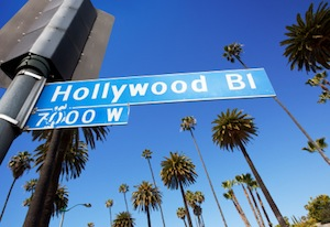 image of hollywood boulevard sign